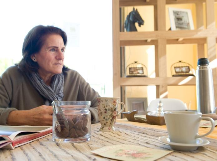 Carmen nos cuenta su historia con una taza de té